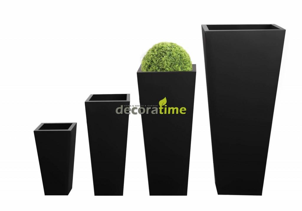fiberglass-saksi-siyah-set