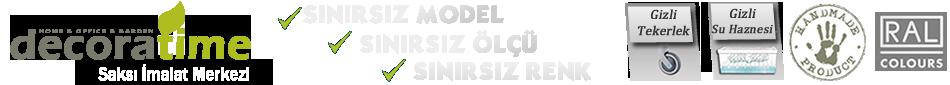 Logo Saksı, Fiber Saksı, Ahşap Saksı, Işıklı Saksı, Dekoratif Saksı, Saksı Fiyatları