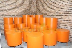 fiber büyük dekoratif banklar